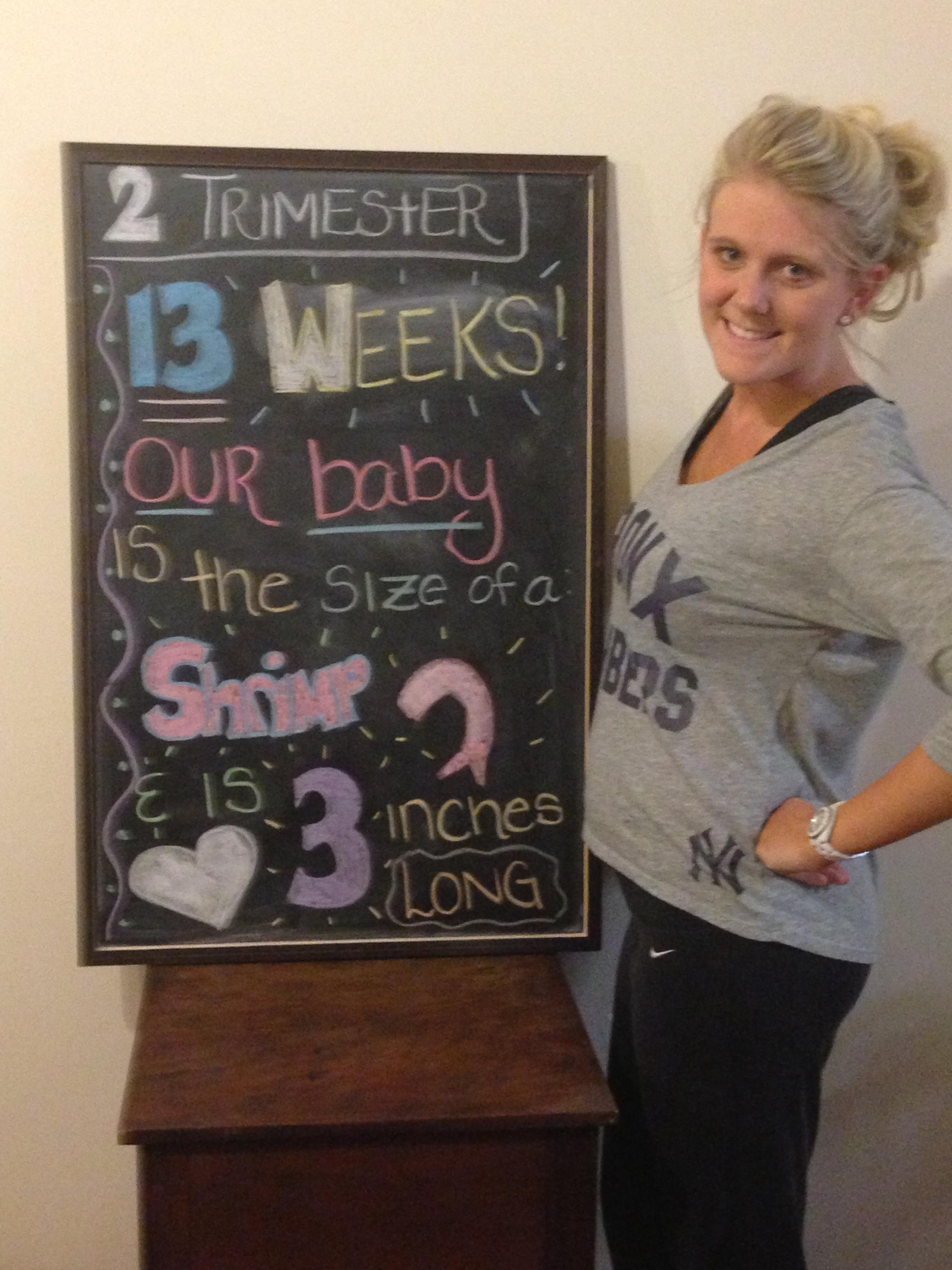 13 WEEKS!!! Hello 2nd Trimester! | Sweet Life